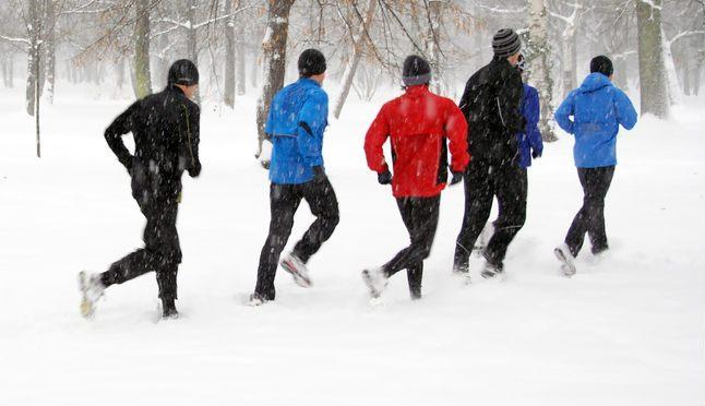 Correr en invierno con frio   Voyacorrer.com