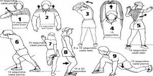 Estirar antes de correr - estiramientos - JARRAS CORTAS | Voyacorrer.com