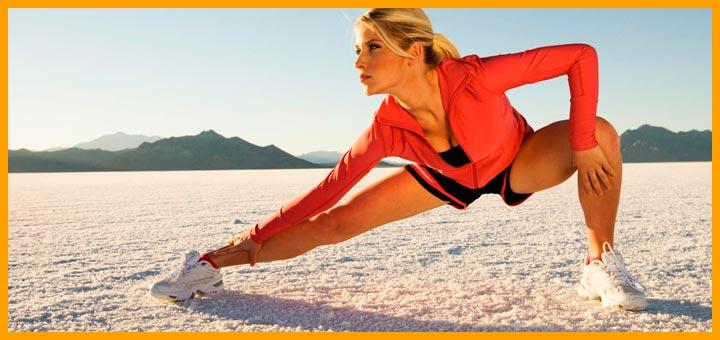 Estirar antes de correr - estiramientos | Voyacorrer.com