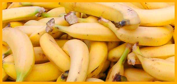 alimentos saludables para corredores - platanos | voyacorrer.com