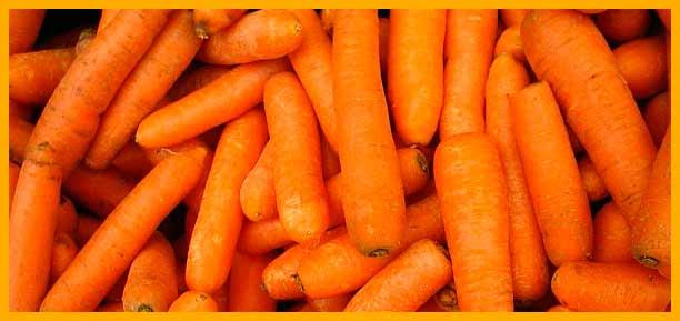 alimentos saludables para corredores - zanahorias | voyacorrer.com