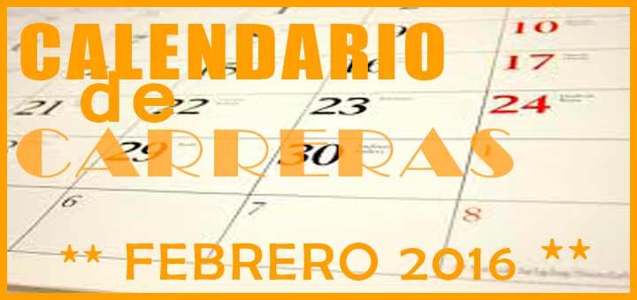 calendario de carreras populares en Andalucia para Febrero 2016 - voyacorrer.com