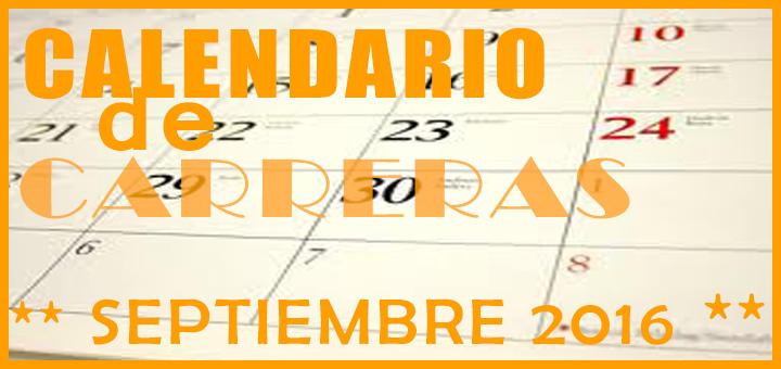 Carreras populares en Andalucía para Septiembre 2016 - voyacorrer.com