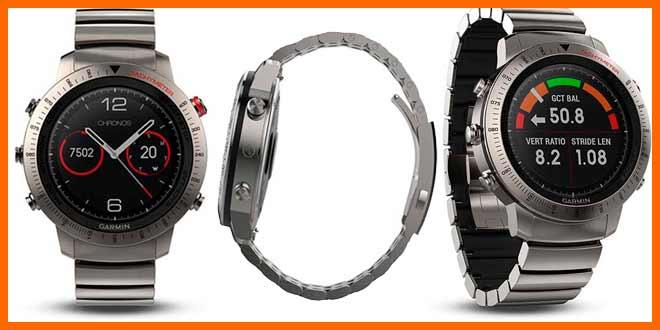 Garmin Fenix Chronos   smartwatch inteligente  voyacorrer.com