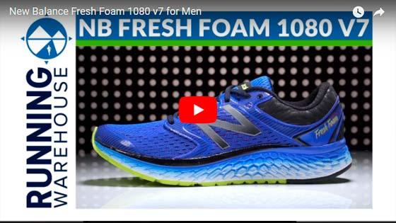 New Balance Fresh Foam 1080 v7 video | voyacorrer.com