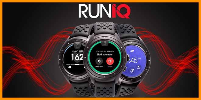 New Balance RunIQ smartwatch | voyacorrer.com