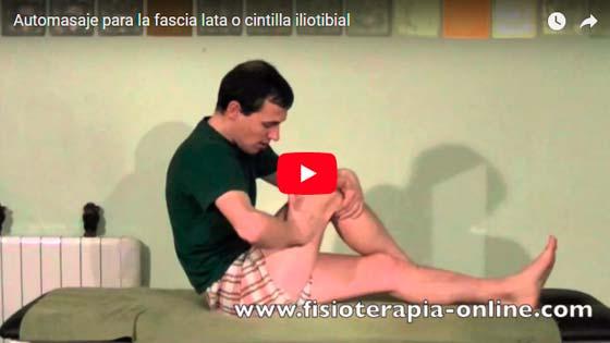 Sindrome de la cintilla iliotibial - video en voyacorrer.com