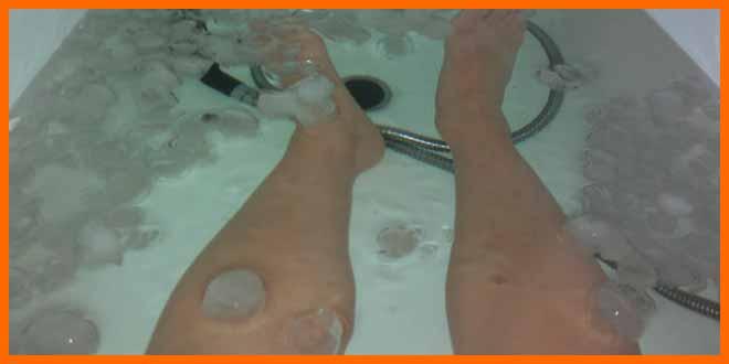 Crioterapia - baños de hielo para deportistas | voyacorrer.com