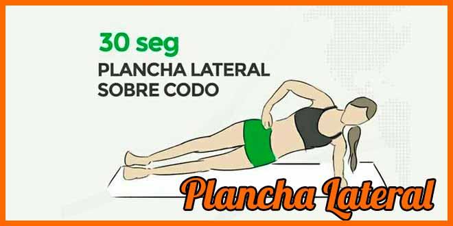 Plancha lateral dolor espalda baja corredores | voyacorrer.com