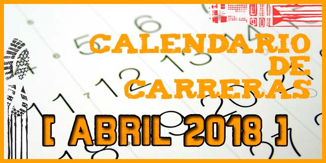 Carreras populares en Andalucía para Abril 2018