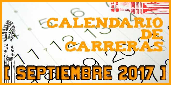 Carreras populares en Andalucía para Septiembre 2017 | voyacorrer.com