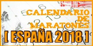 Calendario de maratones en España 2018   voyacorrer.com