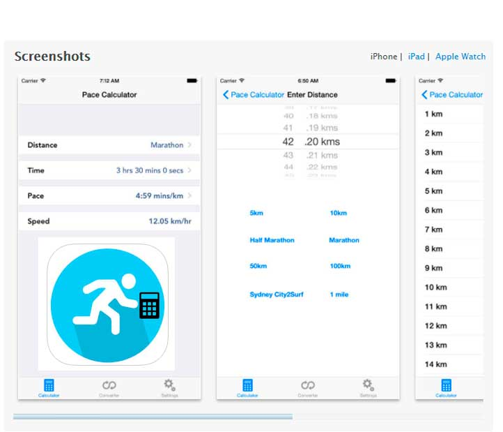 calcula tu ritmo de carreras con apps - voyacorrer.com