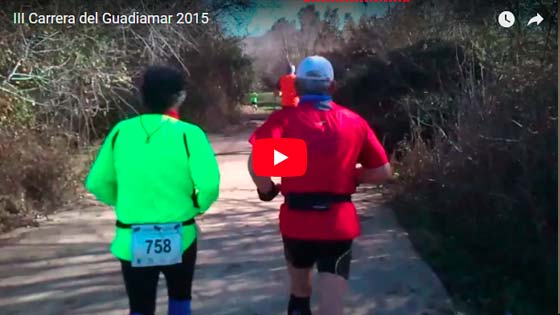 Carrera de Gran Fondo del Corredor Verde Guadiamar - video 2018