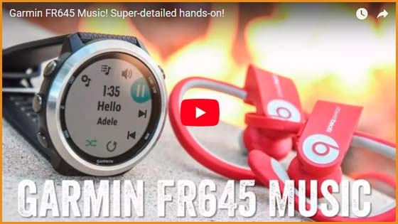 Reloj Garmin Forerunner 645 music | voyacorrer.com